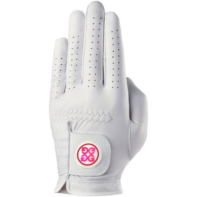 GFORE Golf Glove Seasonal Patch White Flamingo LE 2020