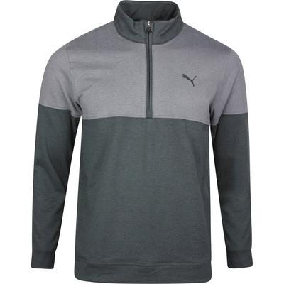 PUMA Golf Pullover Warm Up QZ Black SS20