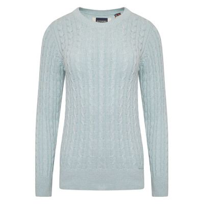 Croyde Bay Knitted Jumper - Powder Turquoise - 8