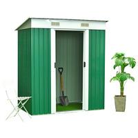 Feider Premium Metal Garden Legacy Apex Shed  2.4 m² - Double...