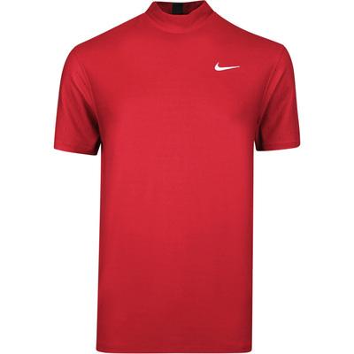 Nike Golf Shirt TW Dry Mock Neck Gym Red SU20