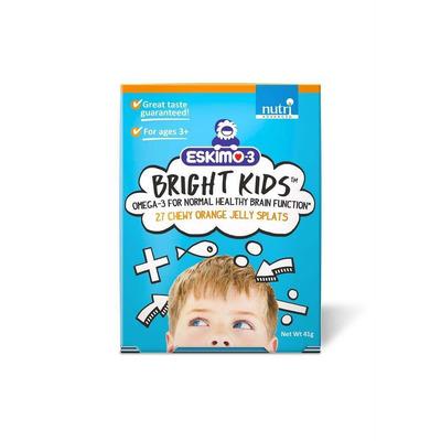 Eskimo-3 Bright Kids Orange 27 Jelly Splats