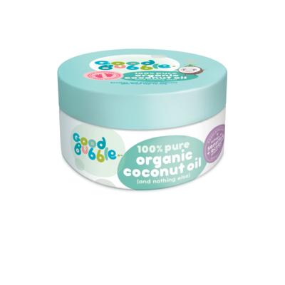 Good Bubble Organic Coconut Oil 185g