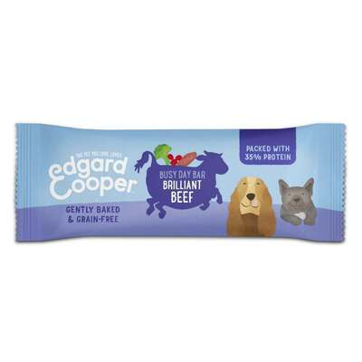 Edgard & Cooper Brilliant Beef Busy Day Bar for Dogs 20g