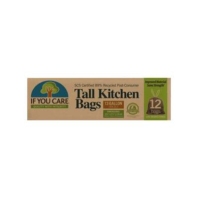 If You Care 89% Recycled Tall Trash Bags - 12 Pack
