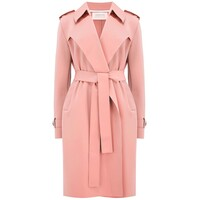 Soft Trench Coat - Nude