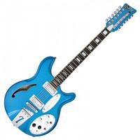 Italia Jeffrey Foskett Signature 12 String Electric Guitar Cobalt Blue