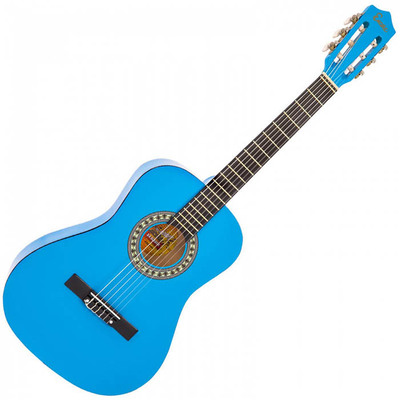 3/4 Size Classical Guitar Pack Blue