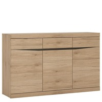 Furniture To Go &pipe; Kensington 3 Door 3 Drawer Sideboard