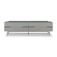 Gillmore Space &pipe; Alberto Four Drawer Low Sideboard