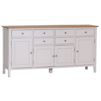 Bay & Co &pipe; Howe Grey With Oak Large Sideboard