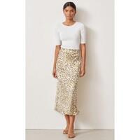 Catalonia Silk Printed Skirt - Print