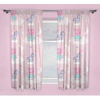 Peppa Pig, Nursery Curtains - Stardust 72s