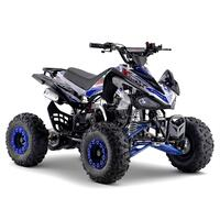 Image of FunBikes Xtrax Sport 125cc Petrol Blue Junior Quad Bike