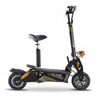 Image of Chaos GT1600 Sport 48v Lithium Hub Drive Off Road Black Adult Electric Scooter