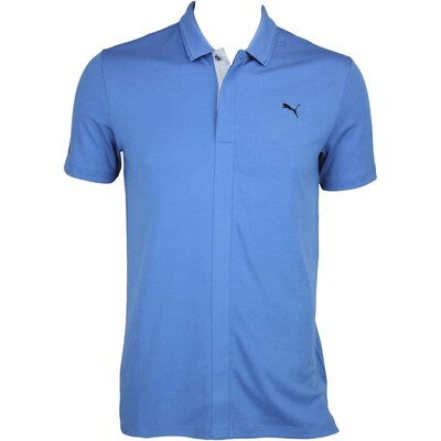 Puma LUX Blend Golf Shirt Federal Blue AW15