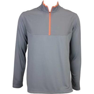 Nike Dri Fit Half Zip Golf Jumper Dark Grey AW15