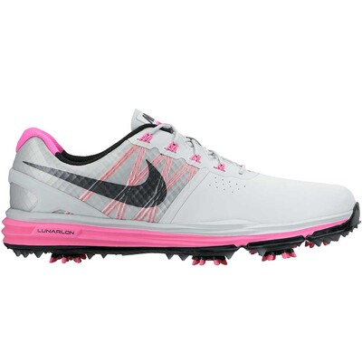Nike Lunar Control 3 Golf Shoes Pure Platinum Pink AW15