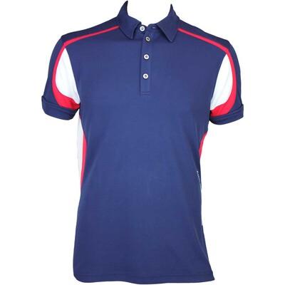Galvin Green Milton Golf Shirt Midnight AW15