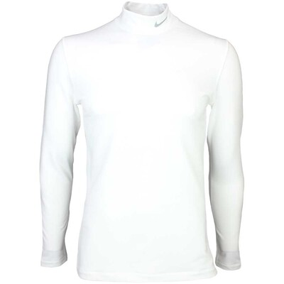 Nike Hyperwarm Golf Base Layer White AW15