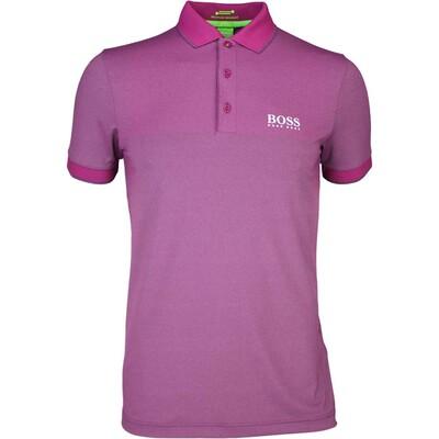 Hugo Boss Paddy Pro 1 Golf Shirt Raspberry PS16