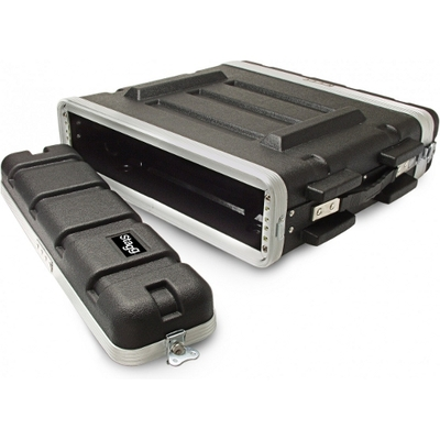 "Image of Stagg 2 Unit 19"" Rack Abs Case"