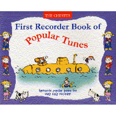 Image of First Recorder Book Of Popular Tunes