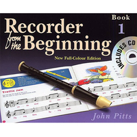 Image of Recorder From The Beginning Book 1 CD