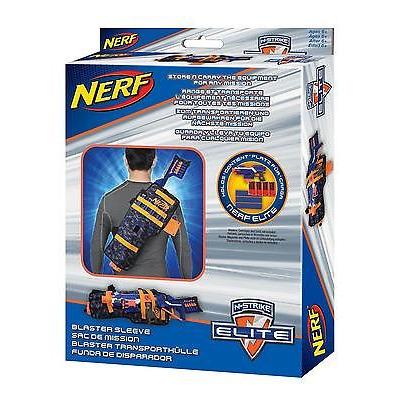 Nerf Blaster Sleeve: Nerf Elite Blaster And Clips Holder