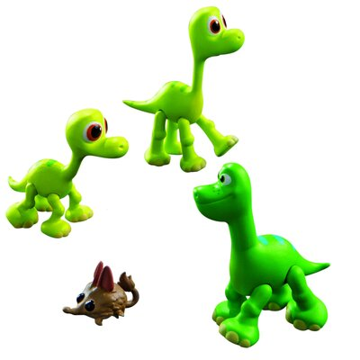 Disney The Good Dinosaur Baby Arlo/ Libby And Buck Action Figures