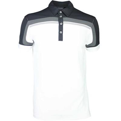 Galvin Green Golf Shirt MACOY Ventil8 Black SS16