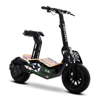 Image of Velocifero MAD Lithium 48v 1600W US Army Adult Electric Scooter
