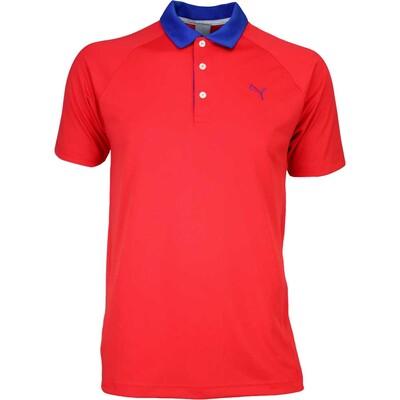 Puma Golf Shirt D Vent High Risk Red SS16