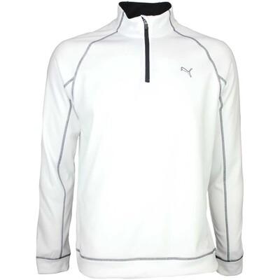 Puma Golf Pullover Fleece Popover Bright White SS16