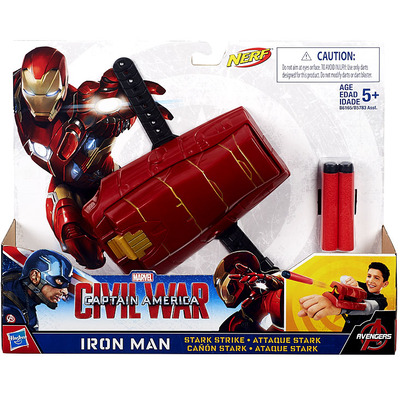 Captain America Civil War Iron Man Stark Strike