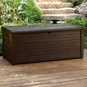 Keter Saxon Garden Storage Box 454ltr - Brown