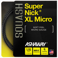 Ashaway Supernick XL Micro Squash String - 9m Set