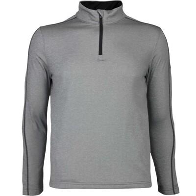 Puma Golf Pullover Core Fleece Zip Grey Heather AW16