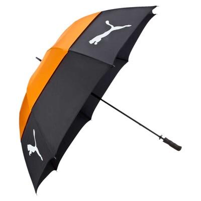 Puma Golf Umbrella Tour Storm Double Canopy Black AW16