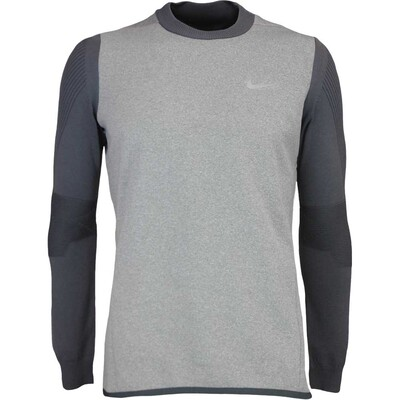 Nike Golf Jumper Tech Sphere Knit Carbon Heather AW16