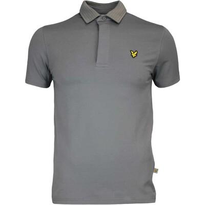 Lyle Scott Golf Shirt Heriot Slate AW16
