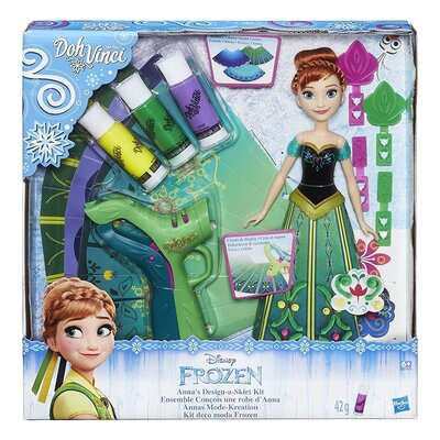 Playdoh DohVinci Frozen Annas Design-A-Skirt Kit