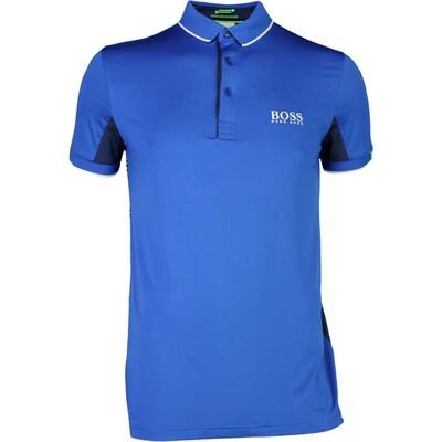 Hugo Boss Golf Shirt Paddy MK Monaco Blue PS17