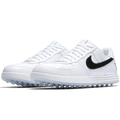 Nike Golf Shoes Lunar Force 1 G White Black 2017