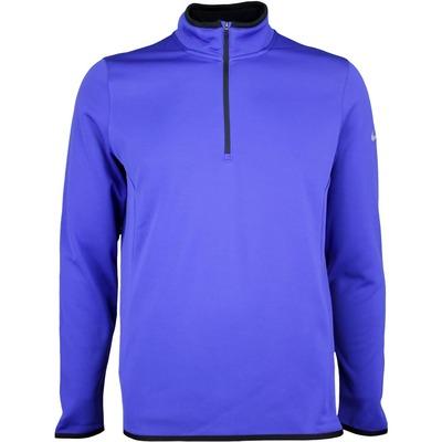 Nike Golf Pullover Hypervis Half Zip Deep Night SS17