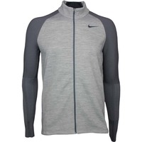 Nike Golf Jacket - Tech Sphere Sweater - Carbon Heather SS17