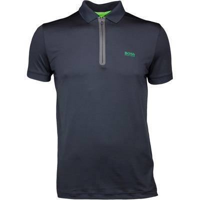 Hugo Boss Golf Shirt Pavotech Black SP17