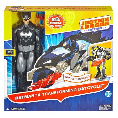 DC Comics Justice League Action Batman & Transforming Batcycle 12