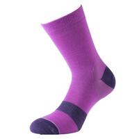 1000 Mile Approach Ladies Walking Socks - Pink, UK 6 - 8.5