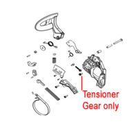 Image of Mitox Replacement Chainsaw Tensioner Gear (MIYD45.04.00-26)